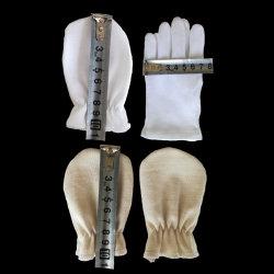 100% Baumwolle Baby Scratch Prevention Handschuhe Fäustling für Neugeborene