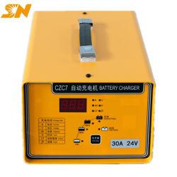 Shineng Czc7 24V 20um Smart Auto carregador da bateria de 120 Ah