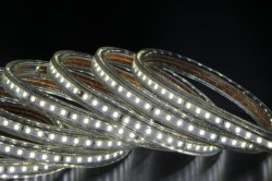 AC120V LED TIRA DE LEDS de luz de la cuerda para árbol de Navidad Decoración 49.2ft Impermeable IP65 con el exterior