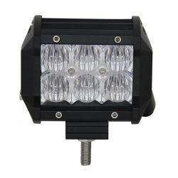 12V 18W 24V 5D voiture phare de travail LED Bar Offroad 6500K puces de LED de feux d'inondation de la conduite du faisceau de la tête de lampe