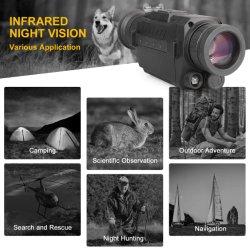 Im Freien 8X Überwachung-Sicherheits-Nachtsicht-Kamera des Summen-HD 720p