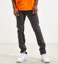 中国のジーンズの広東省の工場価格の好ましいブルー・ジーンズの人の広い足によってはだぶだぶの使用されたデニムのジーンズが喘ぐ