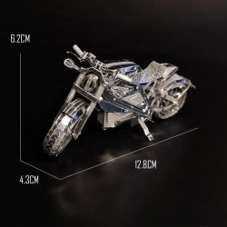 Juego de Puzzle personalizado de la fábrica de metal modelo Puzzle 3D