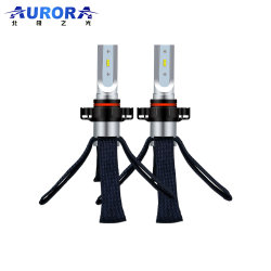 Aurora Hot Sale H4 H7 9004 9007 compacte à LED de faisceau Hi/Lo adapté pour l'entraînement gauche et droite des véhiculesAmpoules à LED