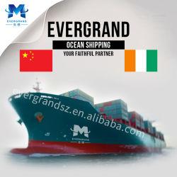 Consolidação de frete marítimo de Foshan China para a Costa do Marfim Abidjan serviços de transporte
