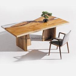 Walnuss-feste hölzerne Tischplatte/Countertop/Tisch- für Systemkonsoleoberseite mit Phasenrand