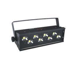 8*25W à LED de couleur blanche lumière stroboscopique