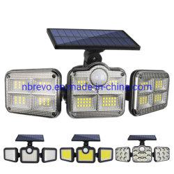 3 Head Wasserdichte Outdoor Solar Motion Sensor LED-Licht