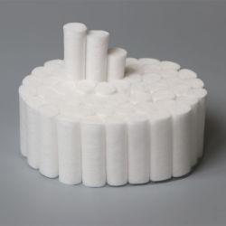 """Los rollos de algodón #2 no estériles de 1,5"""", Medio Alto 100% algodón hidrófilo (Pack de 250)"""