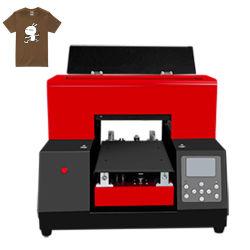 6 de Printer van de T-shirt van kleuren met Inkt Texrile