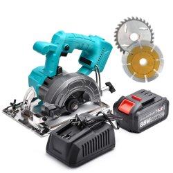 Safeyear 5 pol. 3000 rpm ferramentas eléctricas portáteis Eléctrico Serra circular sem fio