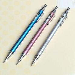 一定した金棒のデッサンの鉛筆に消す物が付いている0.5本の鉛筆を書いている卸し売り機械鉛筆学生
