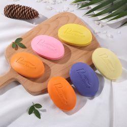 Venta caliente el blanqueamiento de papaya OEM pastilla de jabón de frutas
