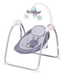 아기 스윙이 자동식 보디가드시트 토들러 로킹 베이비 유아스윙을 합니다 휴대용 접이식 컴포트 저소음 바운스 지원 수면 의자