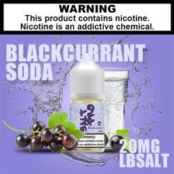 Aromi di soda al ribes nero succo e succo liquido Eliquid Vape ODM OEM