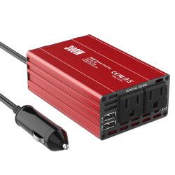 正弦波パワーインバータスクエア 12V ~ 220V 300W を変更 電動デバイス用電動ソーラーカーインバータ