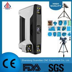 産業部品の品質管理のための多機能のモードの専門の青レーザー3Dのスキャンナー