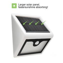 Новый 28 светодиодный индикатор использования солнечной энергии для использования вне помещений инфракрасный датчик движения настенный светильник водонепроницаемый интеллектуальная Безопасность датчика