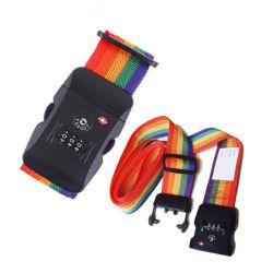 색깔 내구재 조정가능한 수화물 결박 여행 자물쇠 Tsa 주문을 받아서 만들어진 자물쇠