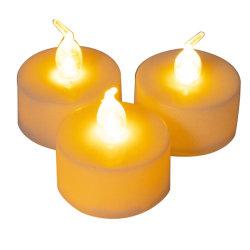 Hauptdekoration-batteriebetriebener flammenloser Tee-helle Farbe, die LED-Kerze ändert