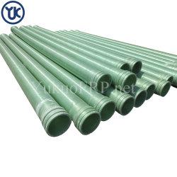 Tubo della vetroresina del tubo di acqua di corrosione di alta qualità ad alta pressione del giacimento di petrolio anti per qualsiasi industria