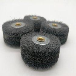 Fils en acier inoxydable / Fil de cuivre flexible de roue pour le polissage du métal, roue le fil sertis