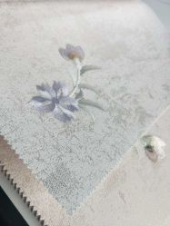 2020 꽃 자수 직물 벽지 가구 고품질 이음새가 없는 직물 벽지