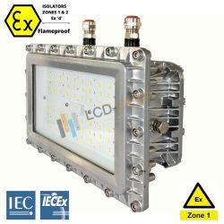 IP66 Ex светодиодный индикатор Взрывозащищенный освещения 80W 120 Вт, 100 Вт, 150 Вт (160 Вт для Atex и система Iecex приложения с 7 лет гарантии UL TUV Ce RoHS сертификаты высокого качества