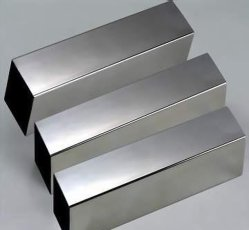 Square 304 316 201 inoxydable Tube en acier inoxydable poli tuyau carré