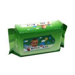 Fábrica de China Wholesale No-Woven suave bebé toallitas desechables húmedas OEM