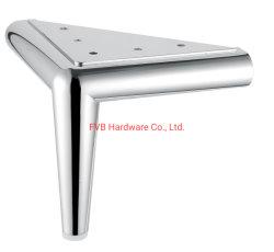2019 Venta caliente de aleación de zinc sólido sofá muebles Leg/cama pierna