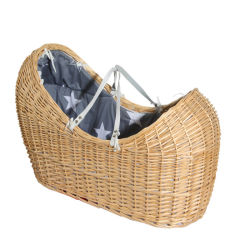 Neues Produkt Baby Wicker Moses Korb