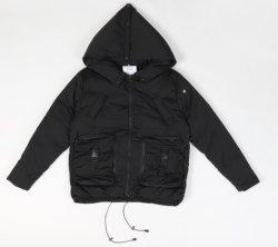 De nouveaux vêtements d'hiver de mode d'usure extérieure Waterrproof de plein air les hommes en cuir veste de ski en denim Hoodie Vestes
