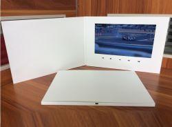 LCD van de Kaart van de groet de VideoKaarten van de Brochure/de VideoSpeler van de Uitnodiging van het Huwelijk