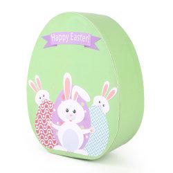 Papel Oval-Shaped Caixa de oferta de armazenamento de doces de chocolate