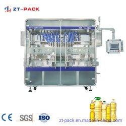Automatische Sonnenblumenöl-Flaschen-flüssige Füllmaschine