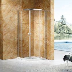Doccia con porta in vetro temperato, bagno semplice (GL2142)