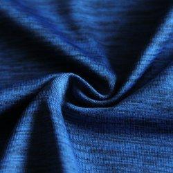 Melange Stof met Polyester/Inslag Gebreid Dubbel Spandex die voor Sportkleding/Beenkappen/de Slijtage/de T-shirt/de Geschiktheid van de Yoga verven