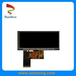 4.6 polegadas LCD de formato de barra com 450 cd/m2 / 40 pinos para carro Vista Traseira