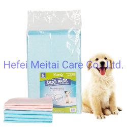 처분할 수 있는 애완 동물 제품 강아지 훈련 패드를 주문을 받아서 만드십시오