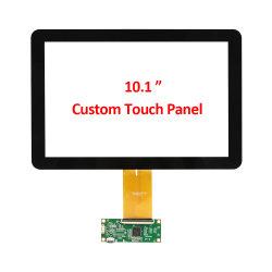 OEM ODM 맞춤형 10.1인치 산업용 오픈 프레임 투영 정전식 I2C USB가 있는 PCAP 멀티 터치 터치스크린 필름 패널 화면 인터페이스 케이블 컨트롤러 보드