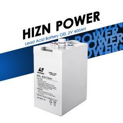젤 배터리 2V 400ah 12V 24V 48V DC 시스템 하이 대용량 저장 배터리