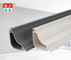 Venta caliente del tubo de PVC gris/blanco Productos Eléctricos de plástico de Trunking triangular