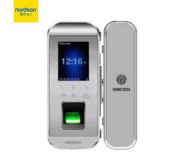 بطاقة كلمة مرور آمنة للبصمة البصرية، باب زجاجي للتأرجح بتقنية RFID التعامل مع نظام القفل أسعار الماكينات في سريلانكا
