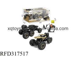 Het nieuwe het zes-Wiel van het 1:10 van het Punt 2.4GHz Stuk speelgoed van de Auto van de Legering RC van de Aandrijving