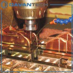 Metall, welches die CNC maschinelle Bearbeitung/maschinell bearbeitet/die Maschinerie-Teile aufbereitet