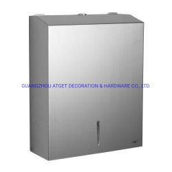 Accesorios de Baño SUS304 Wall-Mounted de acero inoxidable dispensador de toalla de papel