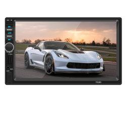 2 DIN autoradio navigation GPS de l'écran tactile 7 pouces HD Lecteur MP5 Bluetooth Radio stéréo vidéo