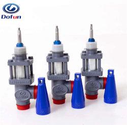 Ligação de armazenamento a frio refrigeração industrial Amoníaco Freon Soldadura do Sistema da Válvula de Transbordo