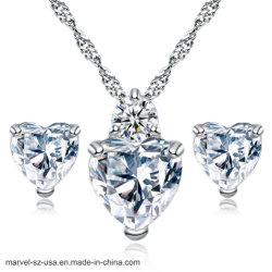 Kristallcharme-Halsketten-Schmucksache-Stift-Ohrring-Anhänger-Halskette